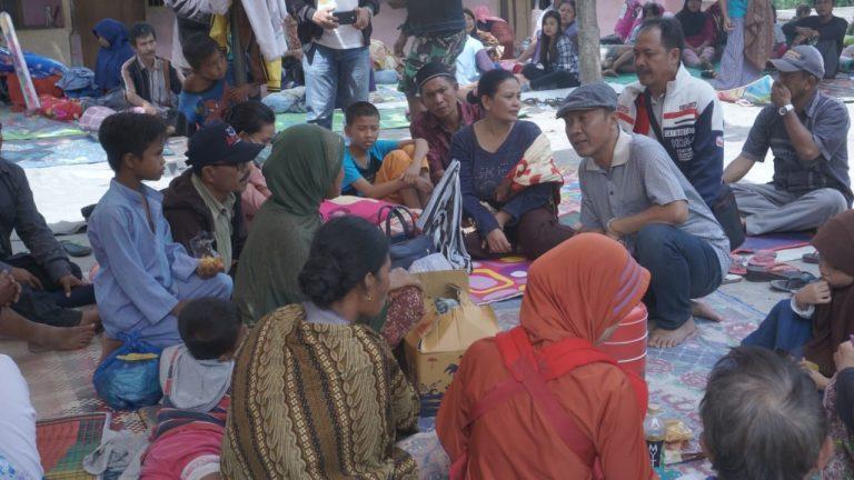 Pemkab Lombok Barat Desak Pemerintah Pusat Bangun Hunian Sementara