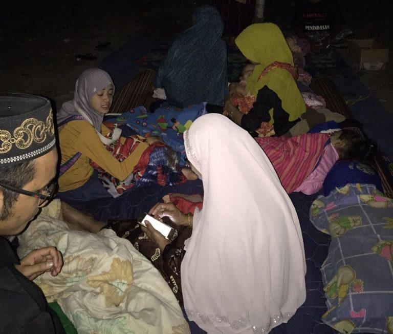 Relawan Sahabat Rakyat Gelar Posko Bantuan Kemanusiaan Gempa Lombok