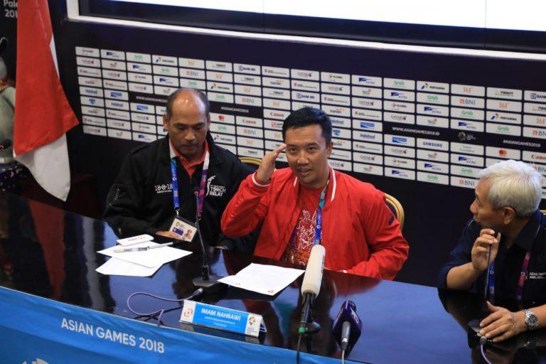 Raihan Medali Emas Asian Games Indonesia Bikin Perasaan Menpora Campur Aduk