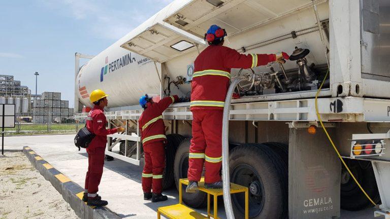 Pertamina Pasok LNG Untuk Industri di Dumai