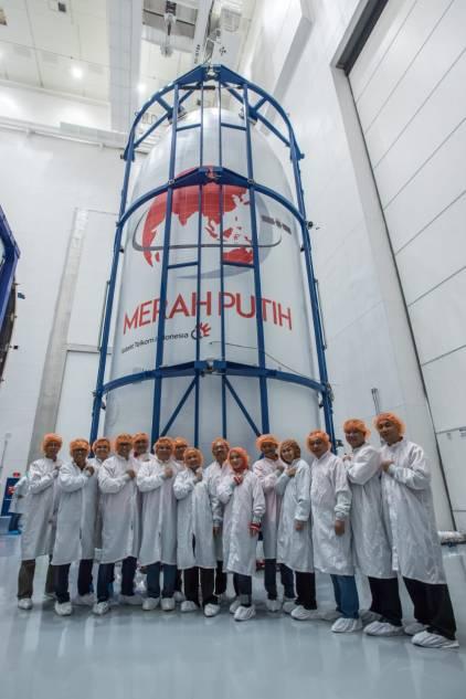 Kehadiran Satelit Merah Putih Telkom jadi Kebanggan Indonesia