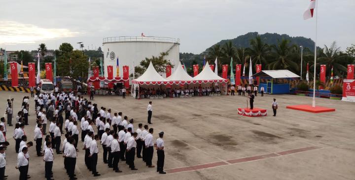 Pertamina Pusatkan Peringatan HUT ke-73 Kemerdekaan RI di Papua