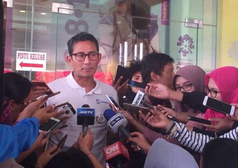 Diprotes Kubu Jokowi, Sandi Makin Masif Gaungkan Isu Ekonomi
