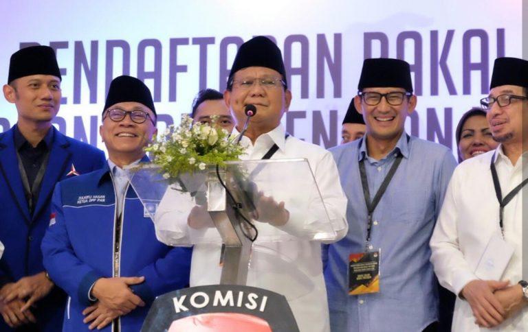 Hinca: Dukungan Demokrat Bulat untuk Prabowo