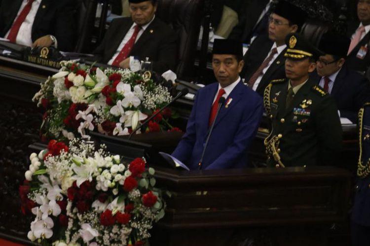 Jokowi Pamer Keberhasilan Pemerintah Rebut Blok Migas