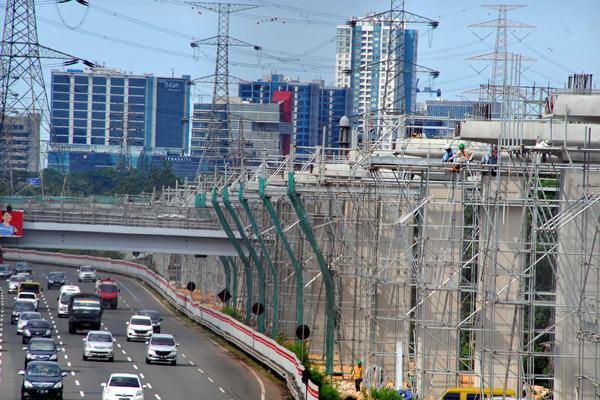 Pembangunan 6 Stasiun LRT Ditargetkan Rampung Akhir November