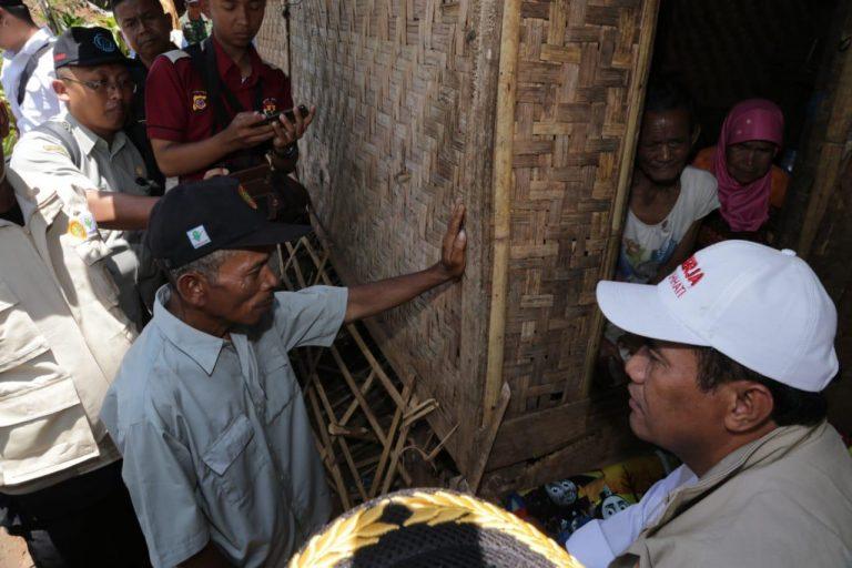 Entaskan Kemiskinan, Mentan Monitor Program Bekerja di Pelosok Garut