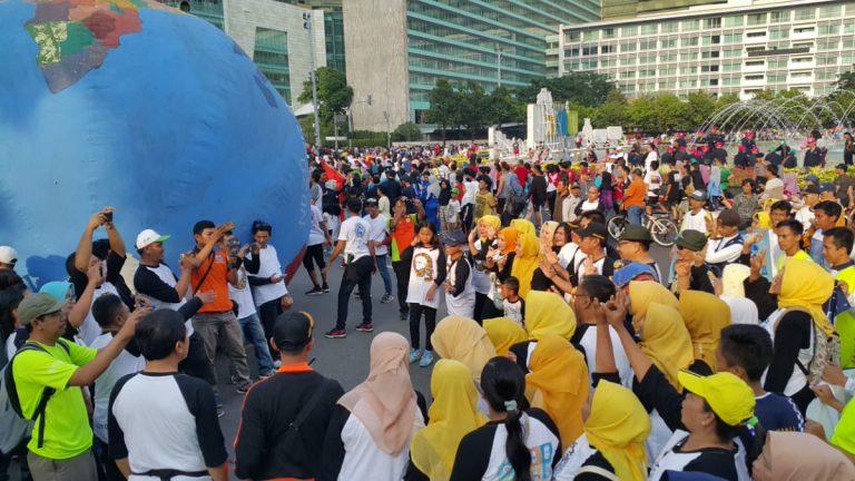 Masyarakat Indonesia Peringati Hari Ozon Sedunia