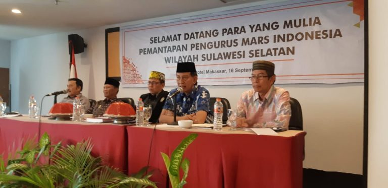 Andi Ansyari Datu Mangkona Dinobatkan jadi Pemegang Mandat MARS Indonesia Sulsel