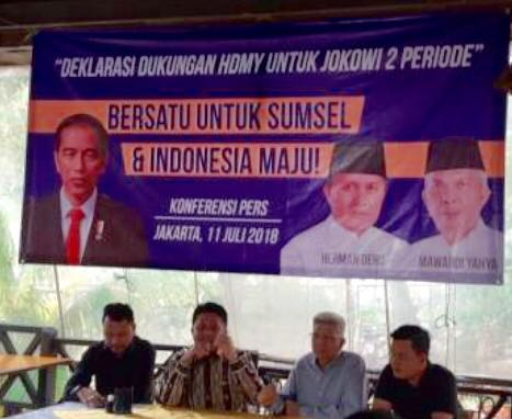 Pendukung Herman Deru Semangat Menangkan Jokowi-Ma'ruf di Sumsel