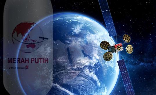 Satelit Merah Putih Telkom Mulai Beroperasi
