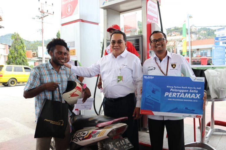 Kemeriahan Hari Pelanggan Nasional di Maluku Papua