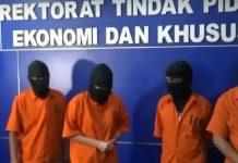 Polisi bongkar kasus pembobolan 17 bak, (sumber gambar: YouTube)