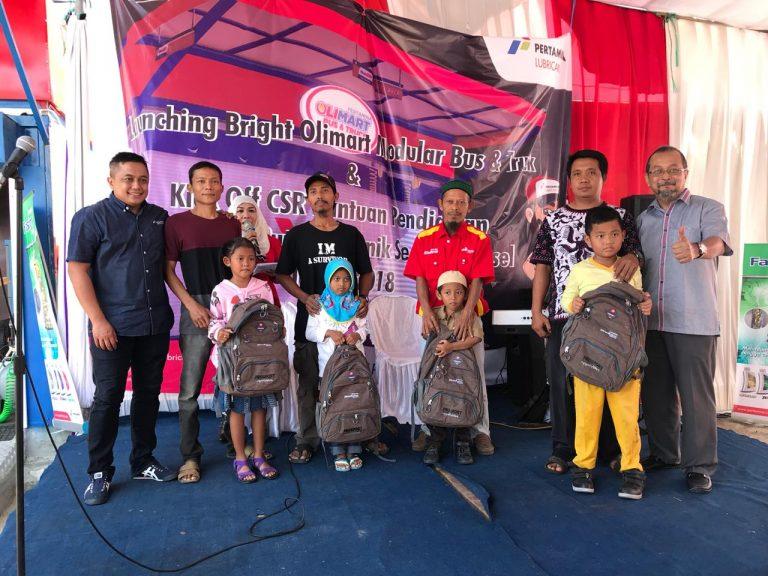Pertamina Lubricants Luncurkan Bright Olimart Modular Khusus Bus & Truck Lampung