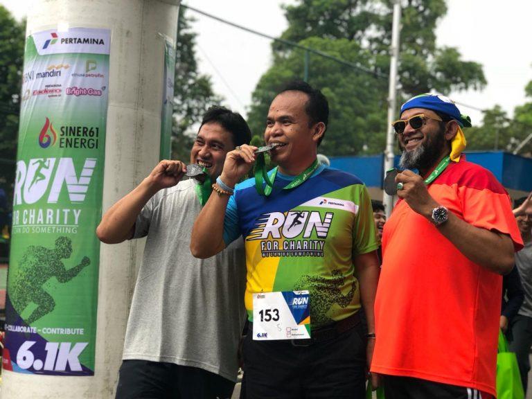 Pertamina Run For Charity Bantu Pendidikan di Belawan