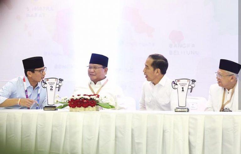 Menakar Kekuatan Jokowi-Ma'ruf vs Prabowo-Sandi