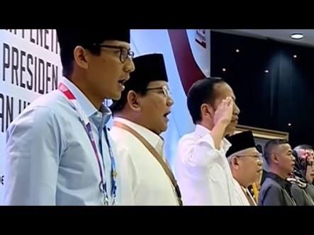 Video Viral Jokowi Hormat Sendiri, Begini Reaksi Netizen