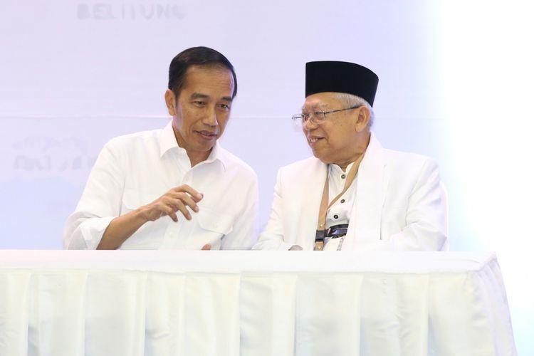 SMRC Hingga LSI Prediksi Pasangan Jokowi-Ma'ruf Menangkan Pilpres