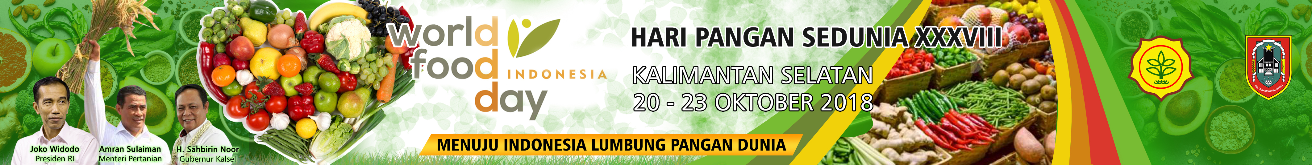 Banner Hari Pangan Sedunia