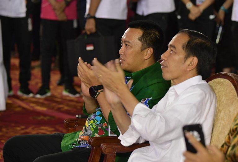 Jokowi Optimis Indonesia Lampaui Target Perolehan Medali Asian Para Games