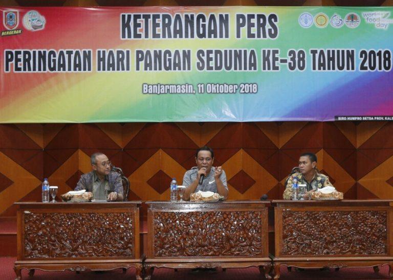 Wujudkan Ketahanan Pangan, HPS ke-38 Maksimalkan Lahan Rawa di Kalsel