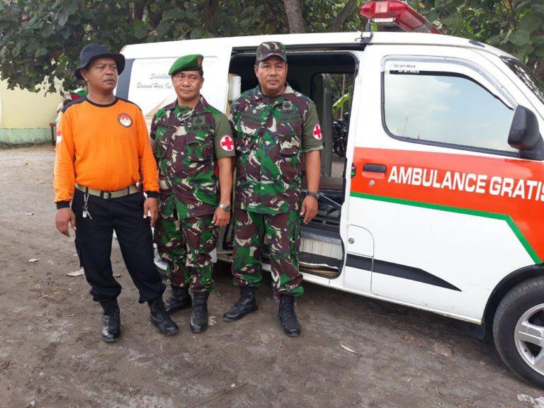 Selama Upacara Pembukaan TMMD Berlangsung, TNI Siagakan Tim Kesehatan
