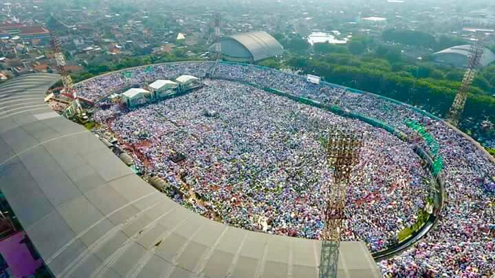 Jutaan Warga NU hadiri Istighosah Kubro di Delta Sidoarjo