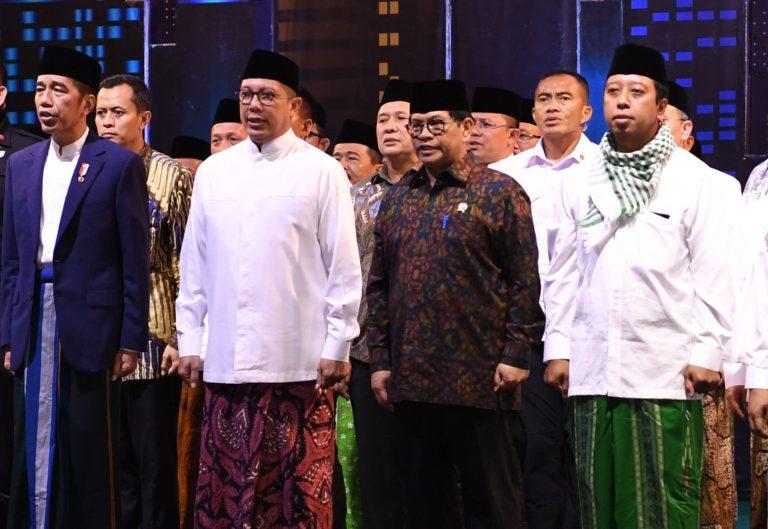 Peringati Hari Santri, Jokowi singgung maraknya penyebaran Paham Radikal