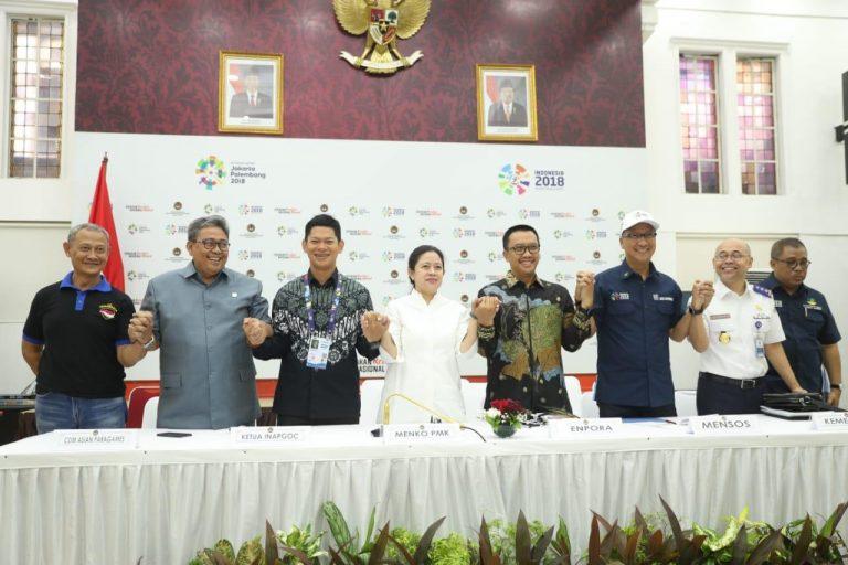 Menpora Pastikan Persiapan Asian Para Games Sudah 100 Persen