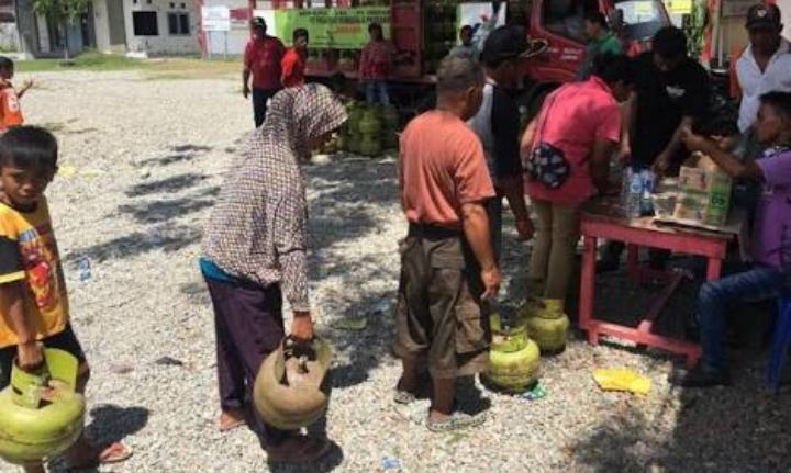 Pertamina Tambah Titik Operasi Pasar LPG di Sulteng