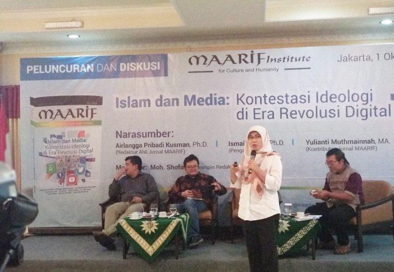Maarif Institute Bedah Jurnal Islam dan Media di Era Revolusi Digital