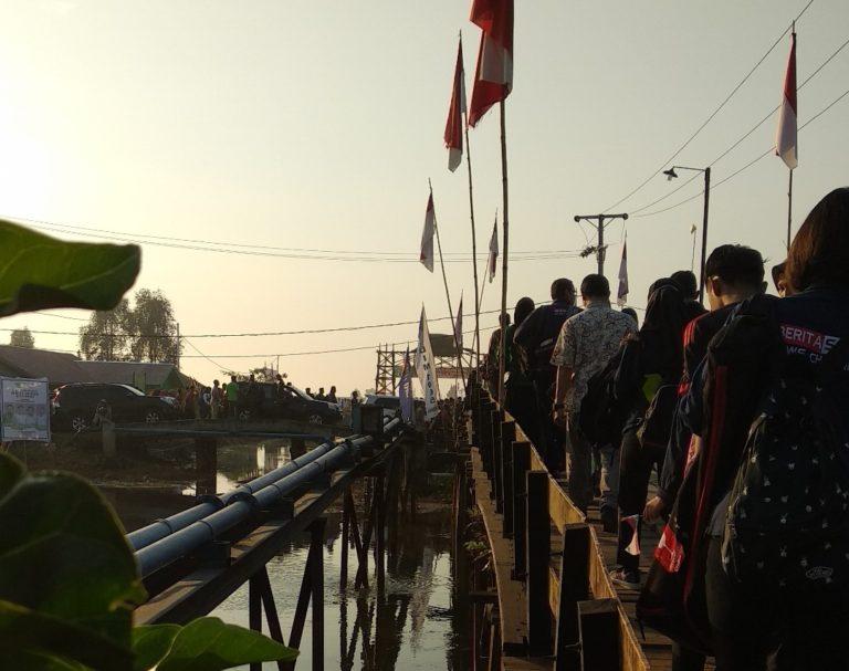 Ribuan Masyarakat Berduyun-duyun Padati Lokasi Pembukaan HPS ke-38