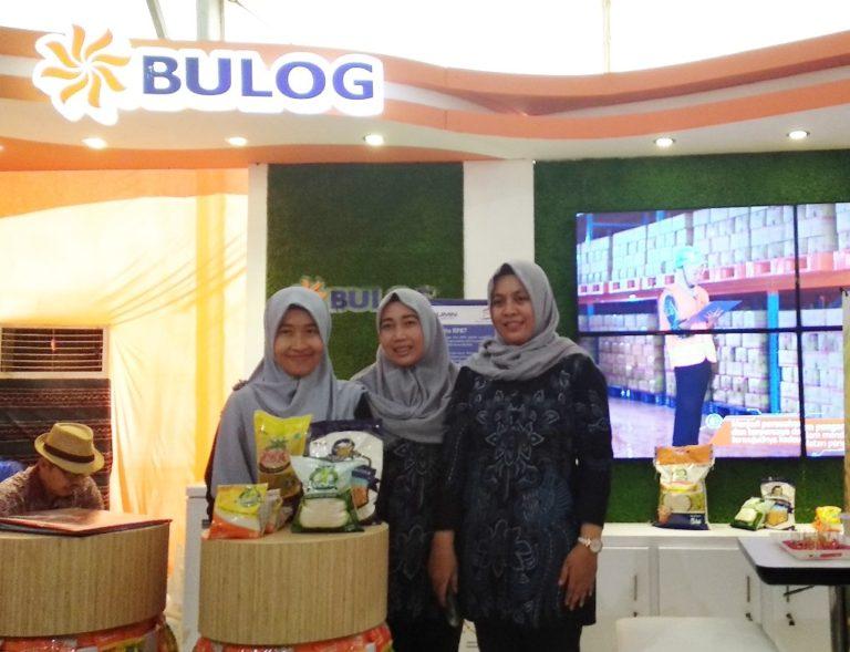 Produk Unggulan BULOG Diserbu Ratusan Pengunjung HPS 2018