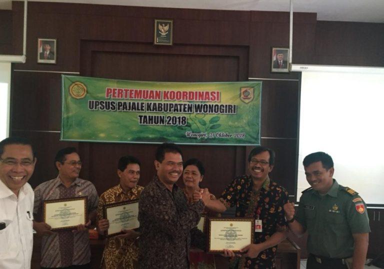 Tanam Padi Gogo, Kementan Beri Penghargaan ke Kabupaten Wonogiri