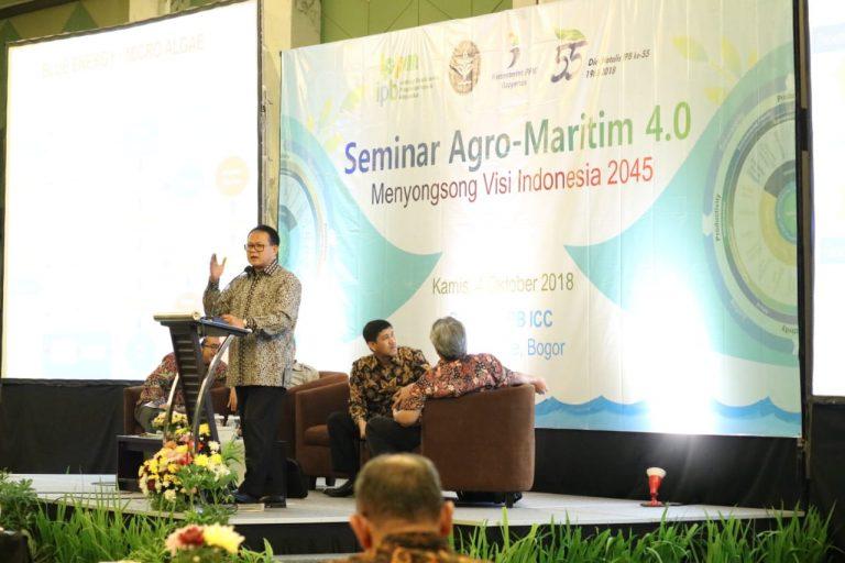 Rokhmin Dahuri dorong Pembangunan Agro-Maritim menyongsong Visi Indonesia 2045