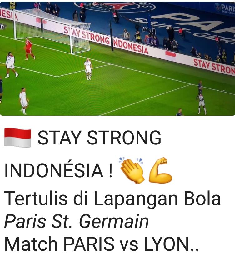 """PSG Beri Dukungan untuk Korban Gempa dan Tsunami """"Stay Strong Indonesia"""""""