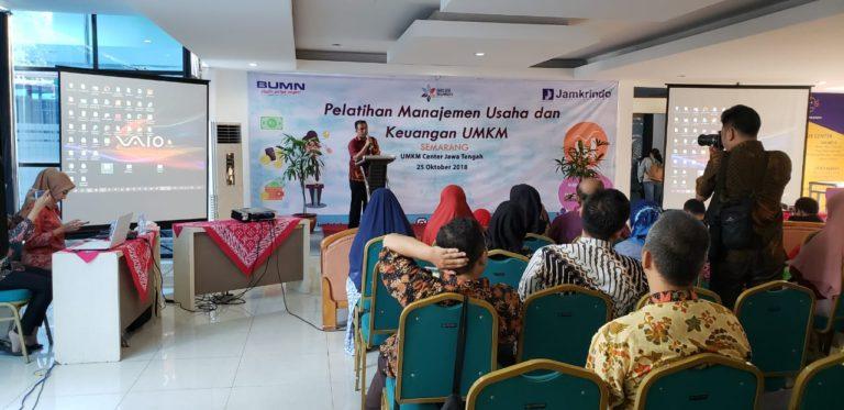 Tingkatkan Kualitas Pelaku UMKM, Jamkrindo Gelar Pelatihan di 6 Kota