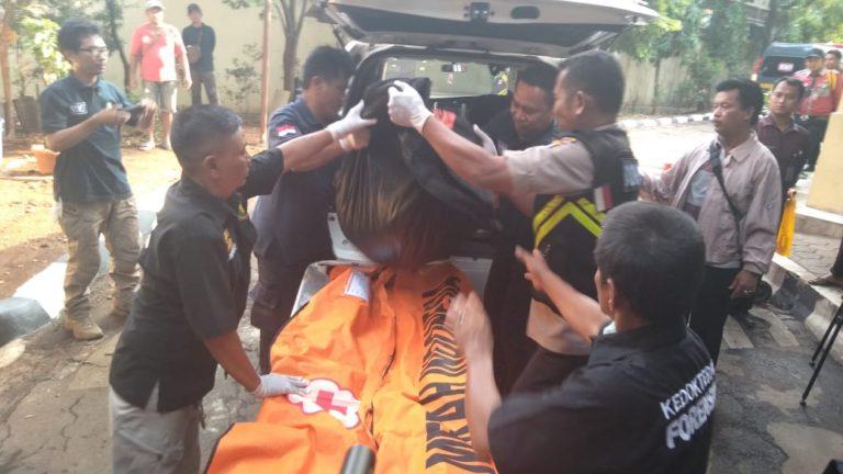24 Kantong Jenazah Sampai ke RS Bhayangkara, Satu Kantong Berisi Jasad Bayi