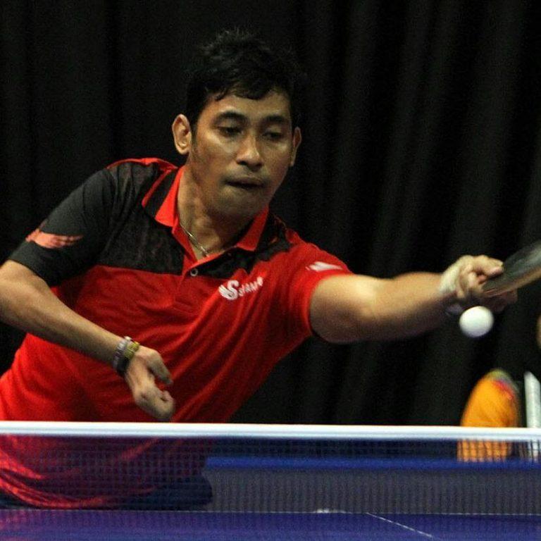 David Jacobs, Atlet Tenis Meja Asian Para Games Andalan Indonesia