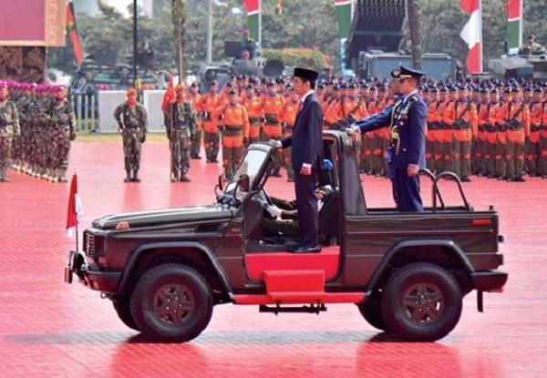 Tiga Pesan Penting Jokowi untuk Prajurit TNI