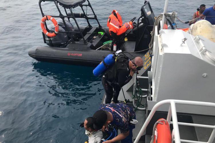 Objek Sepanjang 20 Meter Ditemukan di Perairan Karawang