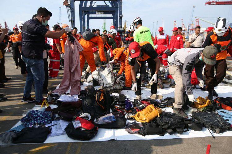 1.396 Orang Hari Ini Diterjunkan Cari Korban dan Puing Lion Air