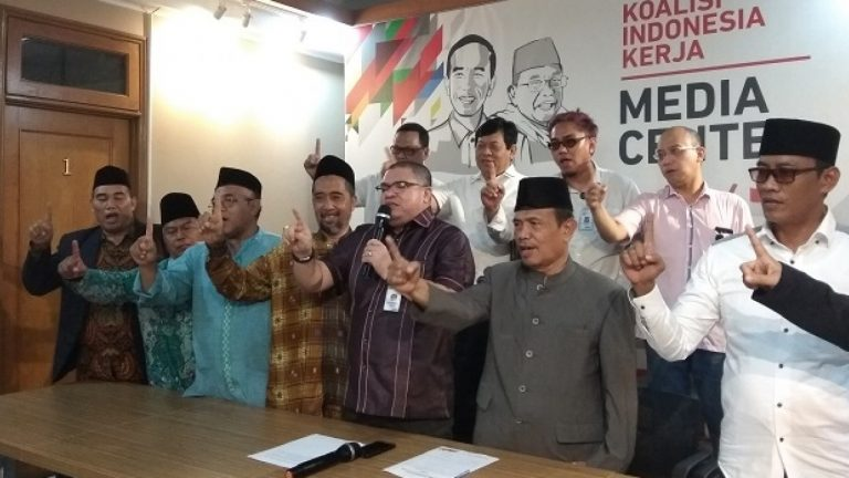 Relawan Eks 212 Dukung Jokowi-Ma'ruf Amin