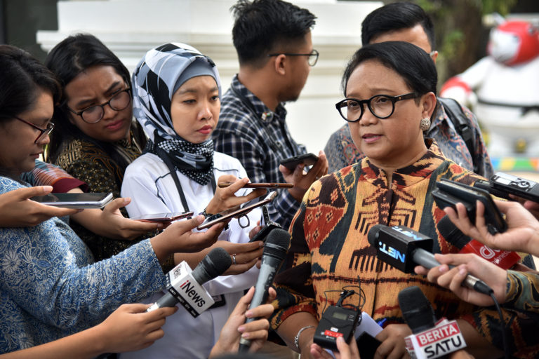 Menteri Retno: Hubungan Indonesia-Palestina Makin Mesra