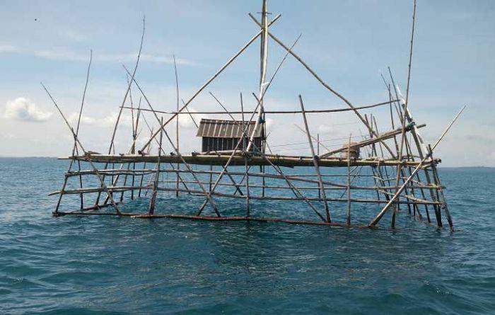 Ganggu Lalu Lintas Kapal, Bagan Tancap di Kepulauan Seribu Ditertibkan