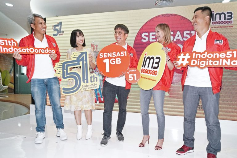 IM3 Ooredoo Hadirkan Paket Sensa51 1GB Rp51