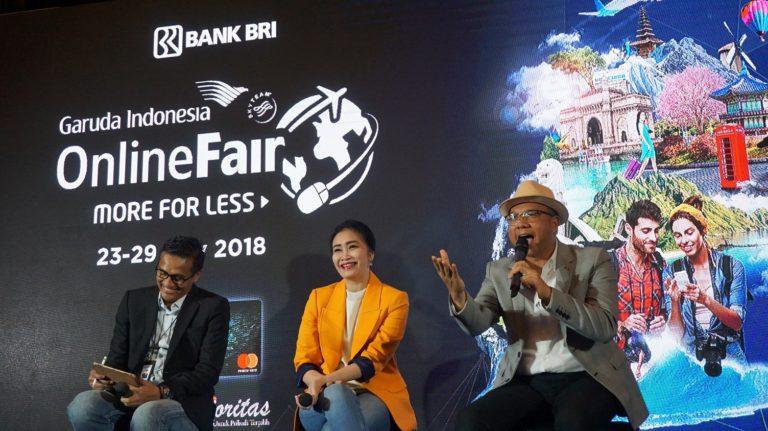 Gandeng BRI, Garuda Indonesia Kembali Gelar GOTF 2018