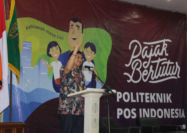 Gerakan Sadar Pajak (Pajak Bertutur) Politeknik Pos Indonesia