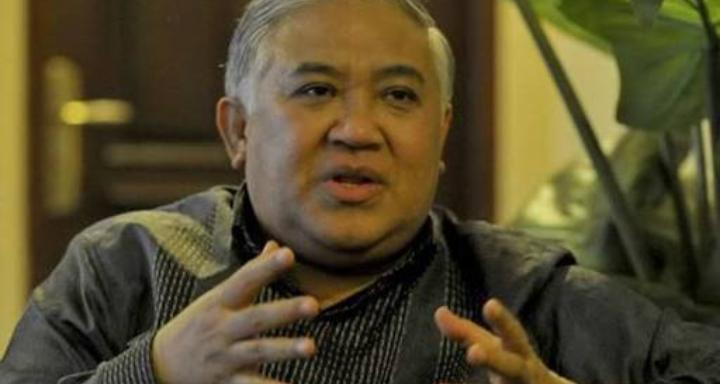 Din Syamsuddin: Menuduh Anti Pancasila adalah Kekeliruan Nalar