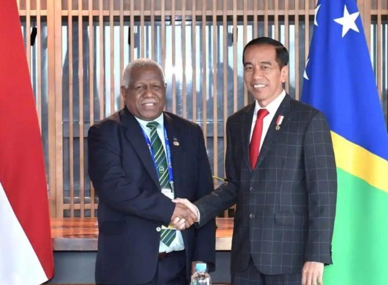 Bertemu PM Kepulauan Solomon, Jokoei Singgung Potensi Laut hingga Sawit